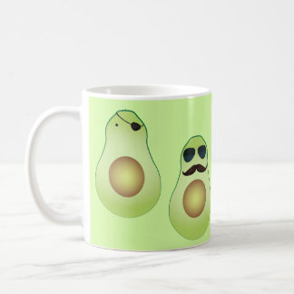 Cool avocado coffee mug