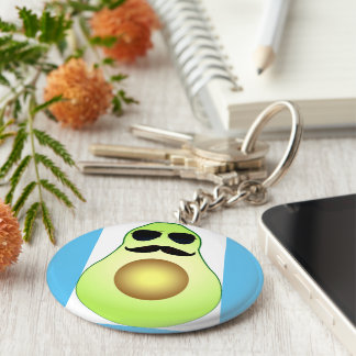 Cool avocado key ring