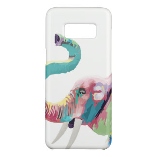 Cool awesome trendy colorful vibrant elephant Case-Mate samsung galaxy s8 case