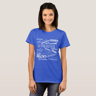Cool Awesome Words T-Shirt