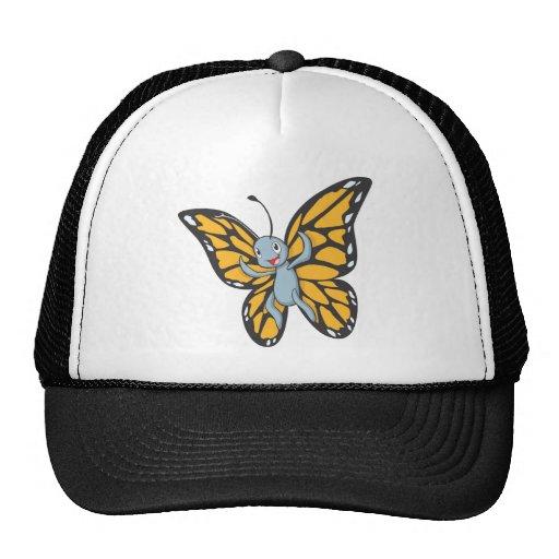Cool Baby Buttefly Cartoon Mesh Hat