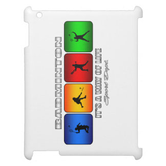Cool Badminton It Is A Way Of Life iPad Cover