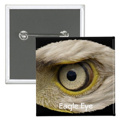 Cool Bald Eagle Eye Gift Pins