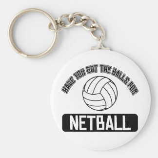 Cool Ball playing sports designs Basic Round Button Key Ring