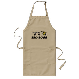 Cool barbeque apron for men | BBQ BOSS