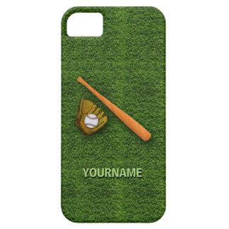 Cool Baseball Equipment  - Baseball Bat Gloves iPhone 5 Cases