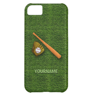 Cool Baseball Equipment  - Baseball Bat Gloves iPhone 5C Cases