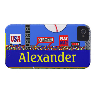 Cool Baseball Personalized iPhone Case Gift iPhone 4 Cases