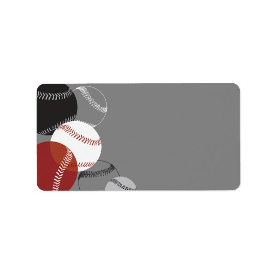COOL BASEBALL Return Address Address Label