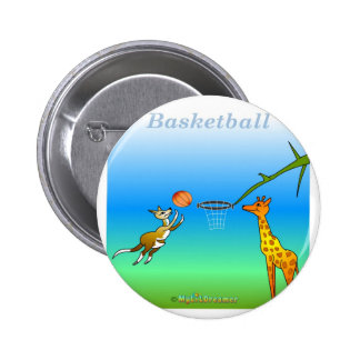 Cool Basketball gifts for kids 6 Cm Round Badge