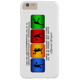 Cool Basketball It Is A Way Of Life Barely There iPhone 6 Plus Case