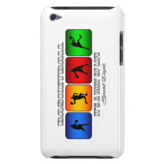 Cool Basketball It Is A Way Of Life Barely There iPod Cover