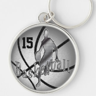 Cool Basketball Keychains Personalized NUMBER