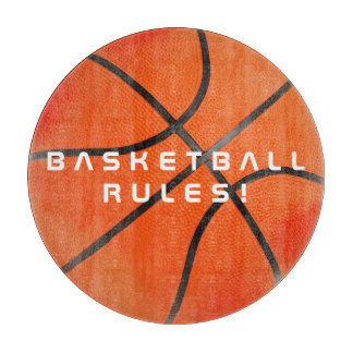 Cool Basketball Rules | Sport Gift Cutting Board