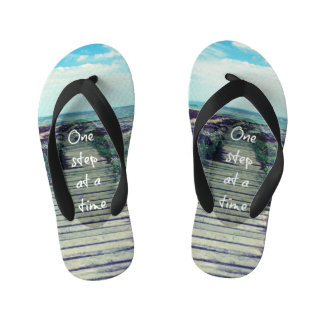 Cool Beach with Step Quote Thongs