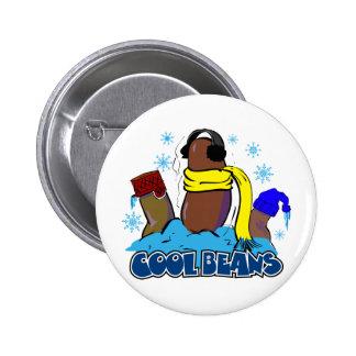 Cool Beans 2 Pinback Button