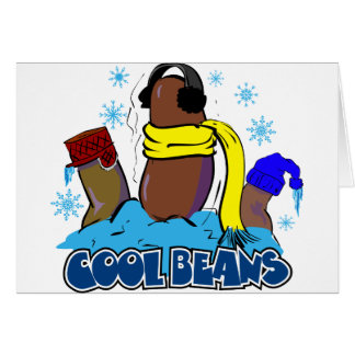 Cool Beans 2 Greeting Card