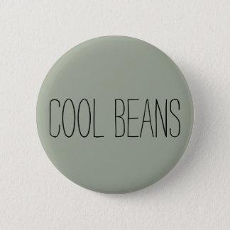 'Cool Beans' 6 Cm Round Badge