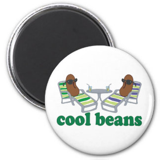 Cool Beans 6 Cm Round Magnet