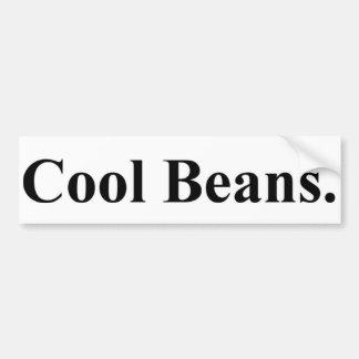 Cool Beans Bumper Sticker Car Bumper Sticker