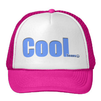 Cool beans cap trucker hat