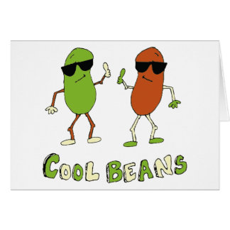 Cool Beans Greeting Cards