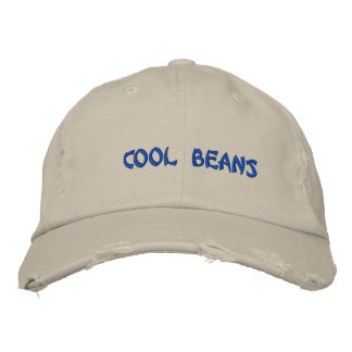CooL BeanS Embroidered Hats