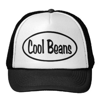 Cool Beans Oval Hats