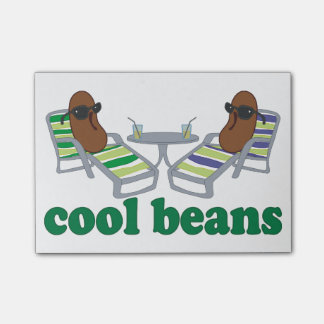 Cool Beans Post-it® Notes