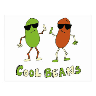 Cool Beans Post Card