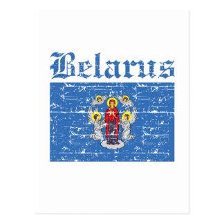 Cool belarus city flag designs postcard