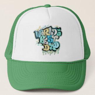 Cool best dad trucker hat
