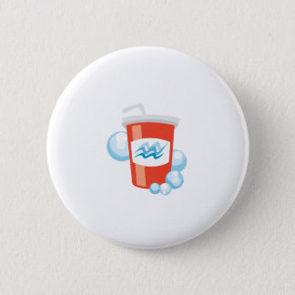 Cool Beverage 6 Cm Round Badge