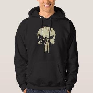 Cool Biker Inspired Skull and Bones Hoodie
