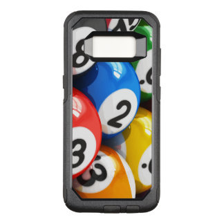 Cool Billiards Theme OtterBox Commuter Samsung Galaxy S8 Case