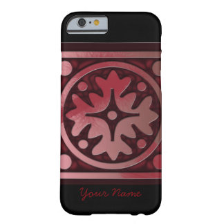 Cool Black and Red Design Iphone Case