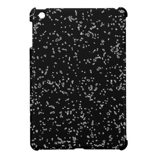 Cool Black And White Fractal Art Patterns Modern Cover For The iPad Mini