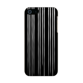 Cool Black and White Striped Pattern Incipio Feather® Shine iPhone 5 Case