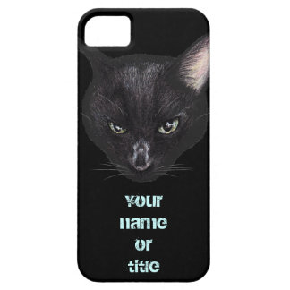 COOL Black Cat Barely There iPhone 5 Case