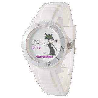 Cool Black Cat watch