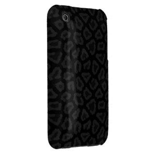 Cool Black Leopard Print iPhone 3G/3Gs Case Case-Mate iPhone 3 Case