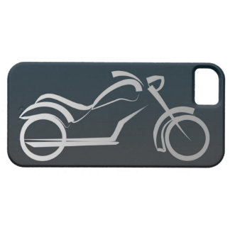 Cool Black Silver Motorcycle Frame iPhone 5 Cover