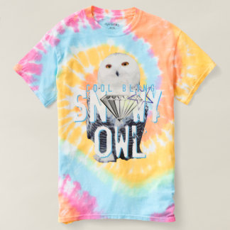 Cool Bling Snowy Owl T-Shirt