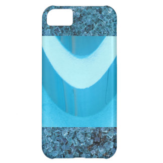 Cool Blue Abstract iPhone 5C Cases