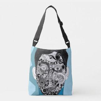 Cool Blue Crossbody Bag