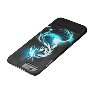 cool blue crystal dragon cases barely there iPhone 6 case
