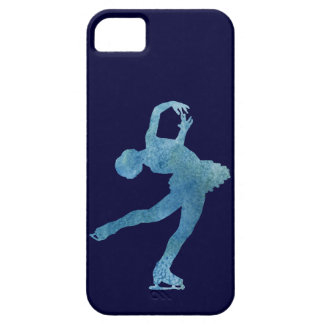 Cool Blue Figure Skater Case For The iPhone 5