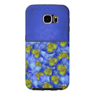 Cool Blue Floral Pattern Case