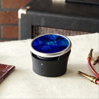 Cool Blue Ice Geometric Pattern Bluetooth Speaker