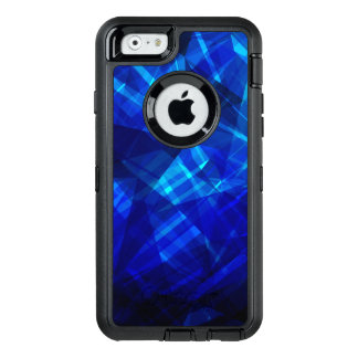 Cool Blue Ice Geometric Pattern OtterBox iPhone 6/6s Case